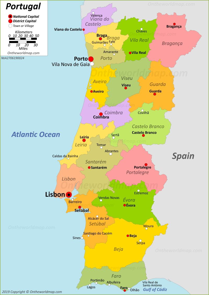 Portugal Maps Maps Of Portugal