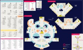 Doha Airport (Hamad) Shopping and Dining Map