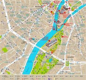 Yakimanka tourist map