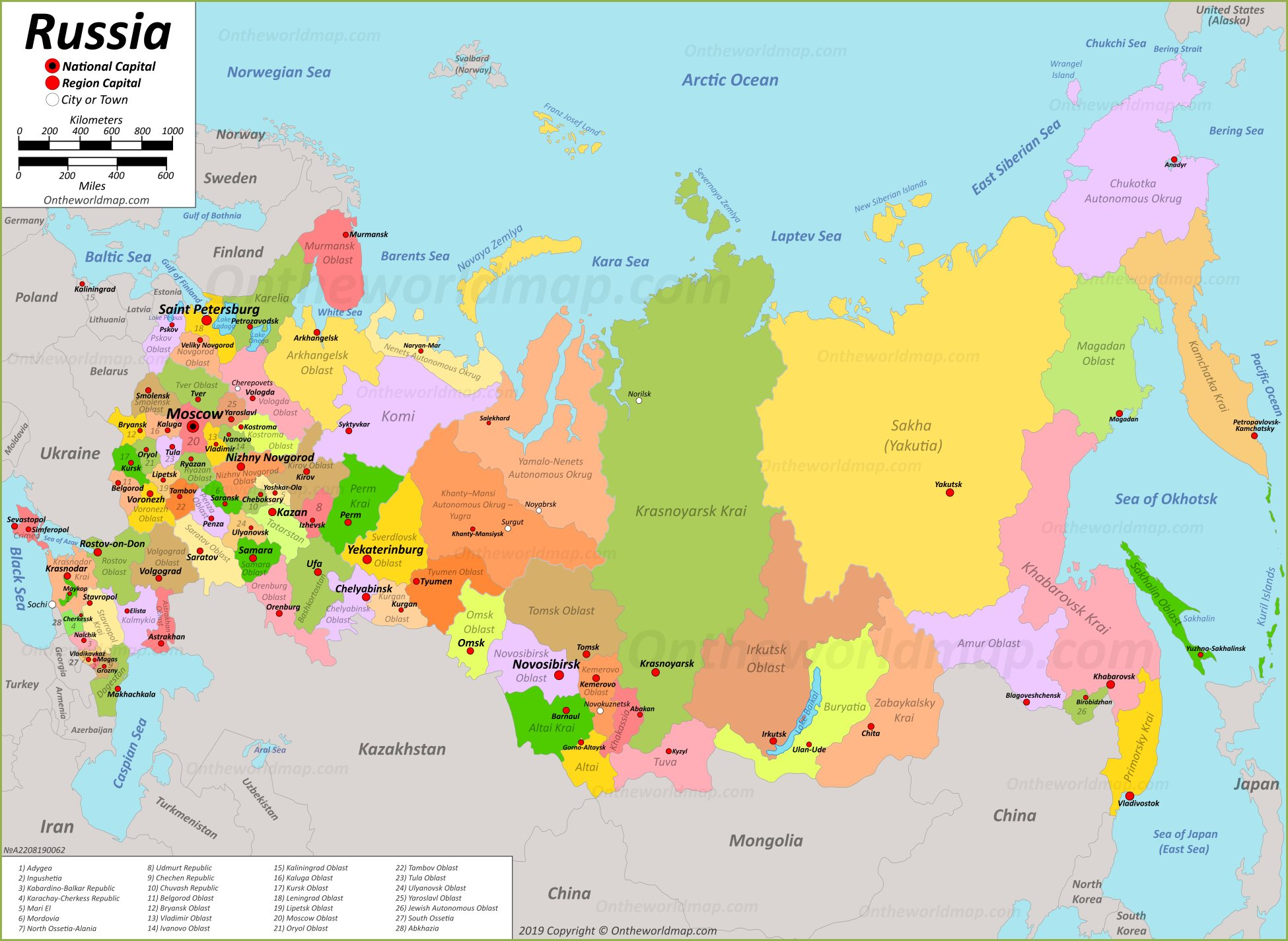 Image of: Russia Maps Maps Of Russia Russian Federation