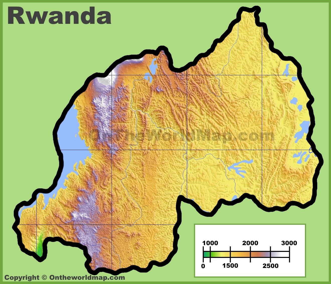 Rwanda Maps Maps Of Rwanda - Rwanda map