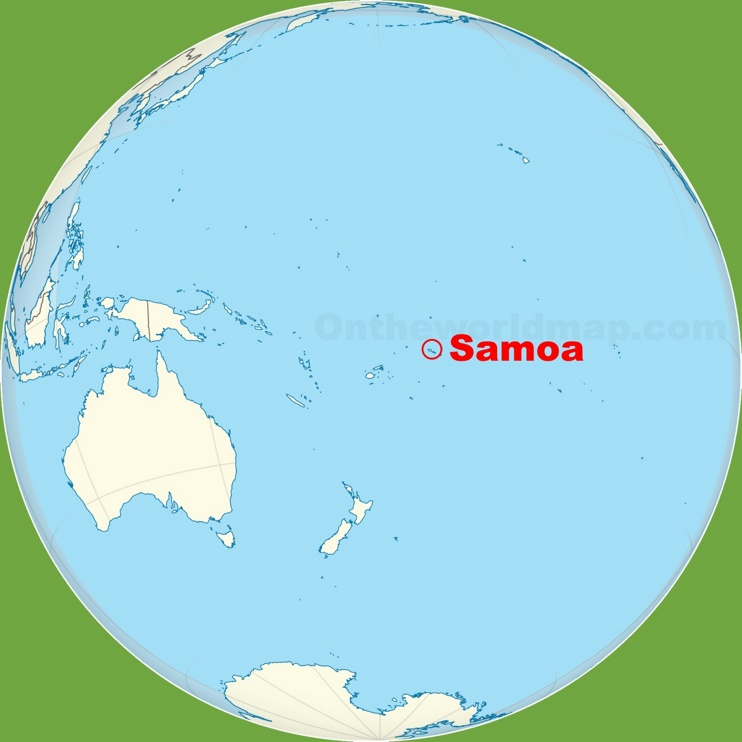 Samoa location on the Pacific Ocean map on transjordan on the map, seborga on the map, philippines on the map, sao tome and principe on the map, virgin islands on the map, aland on the map, kingman reef on the map, japan on the map, punjab india on the map, the gambia on the map, alaska on the map, micronesia on the map, saint helena on the map, guam on the map, spratly islands on the map, malay peninsula on the map, solomon island on the map, jordan on the map, kuril islands on the map, east africa on the map,