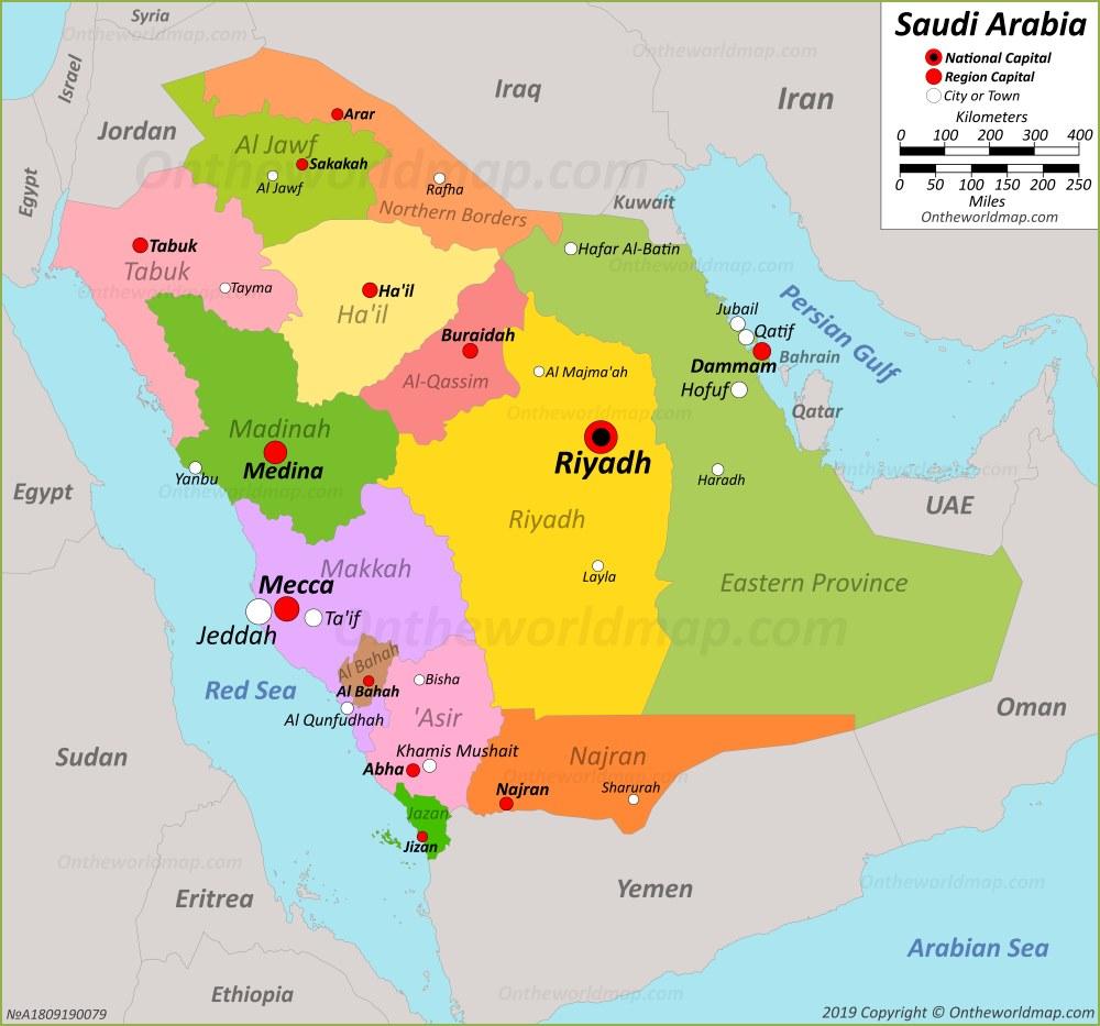 Saudi Arabia Maps   Maps of Saudi Arabia