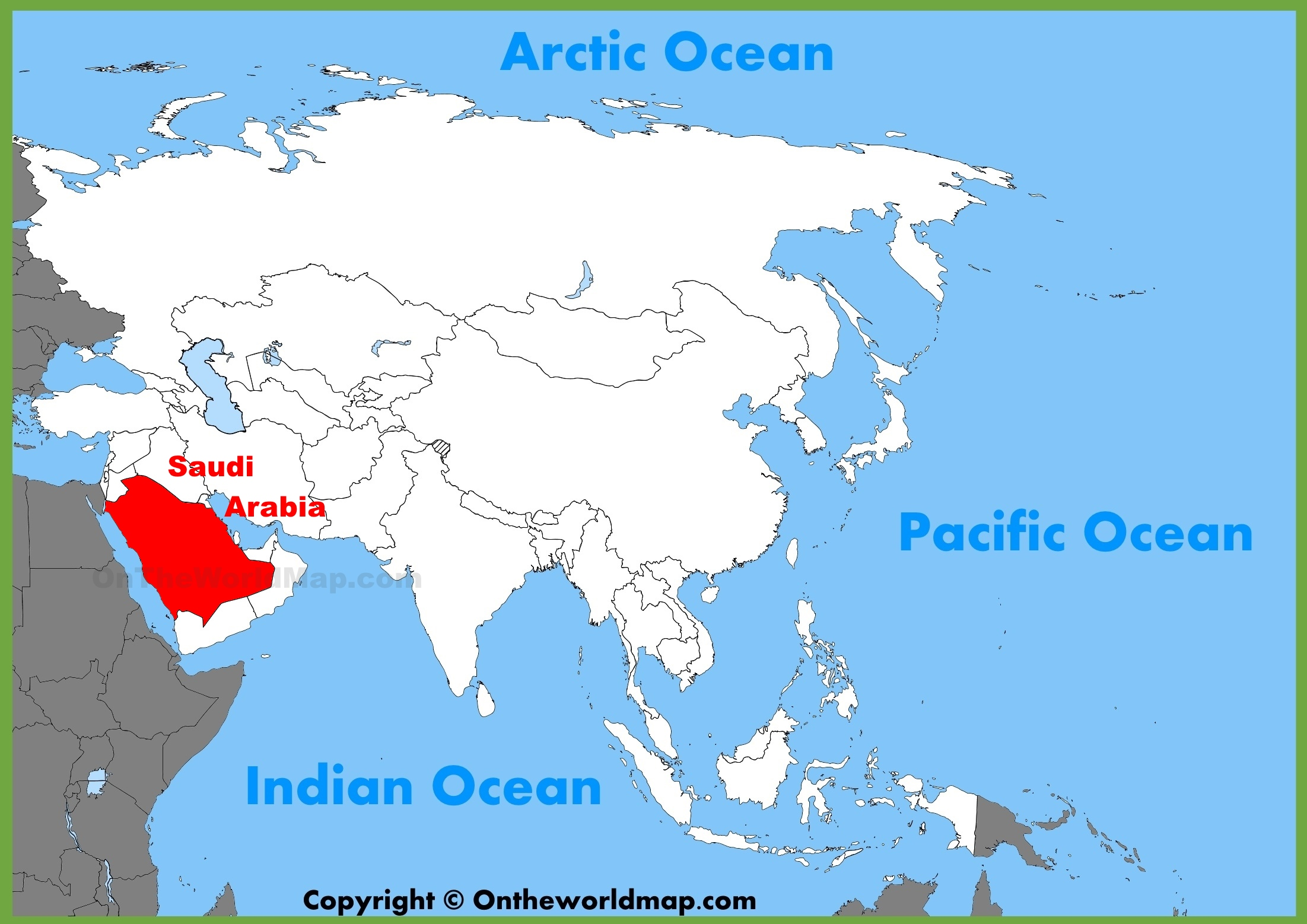 Where is the arabian sea located on a map