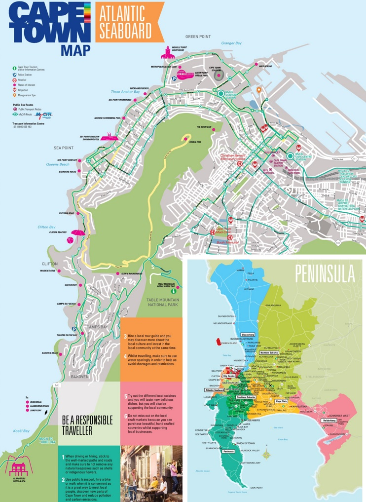 Atlantic Seaboard map