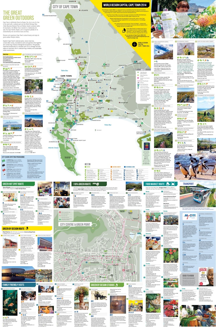 Cape Town green map