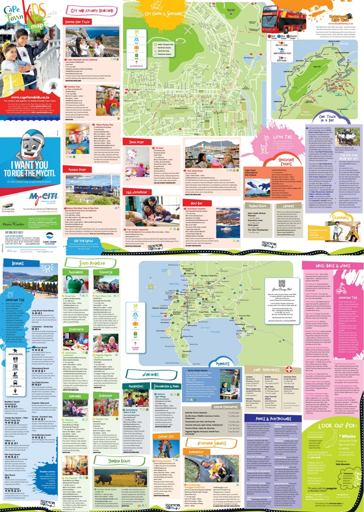 Cape Town kids map