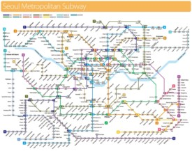 Seoul metropolitan subway map