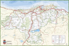 Cantabria Maps Spain Maps of Cantabria