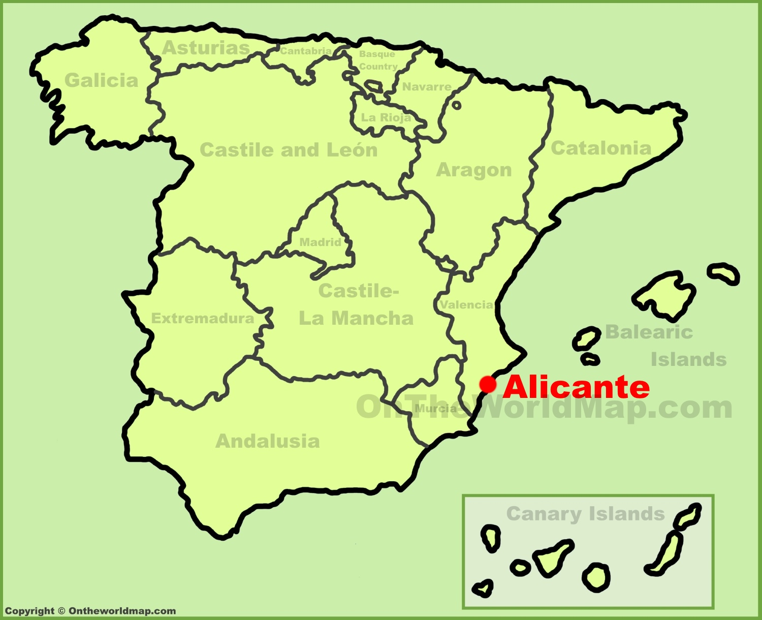Alicante Maps Spain Maps of Alicante