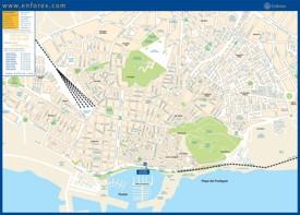 Alicante street map