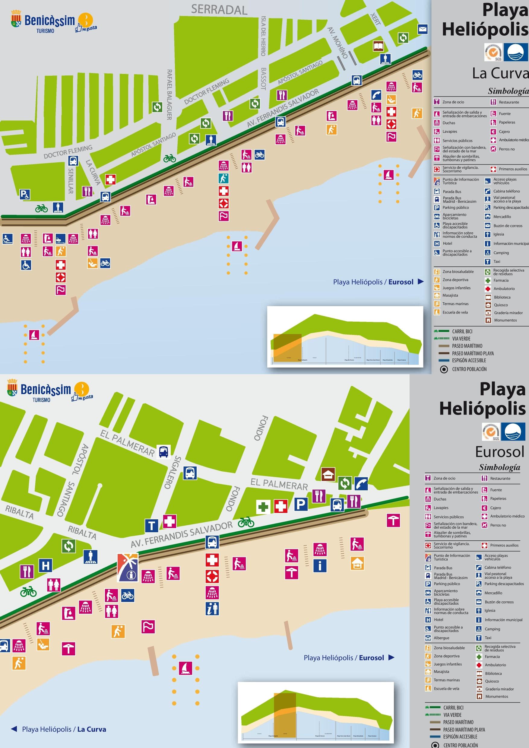 Playa Heliopolis map