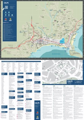 Calp tourist attractions map