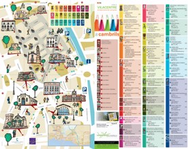 Cambrils - Mapa Turistico