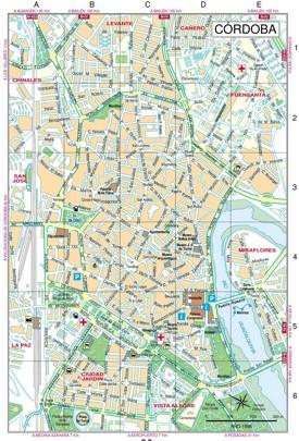 Córdoba calle mapa