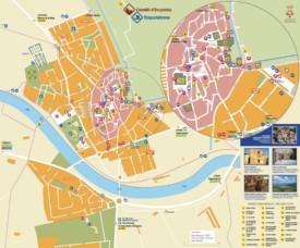 Castellón de Ampurias map