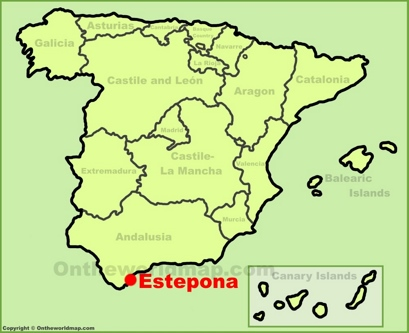 Estepona Maps Spain Maps of Estepona