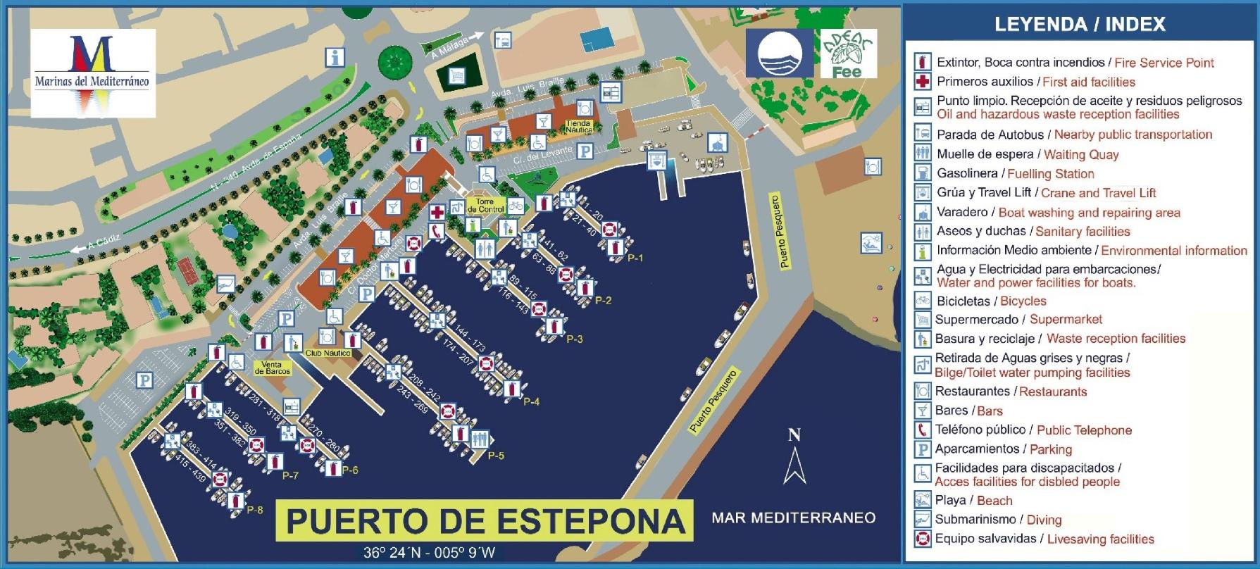 Estepona Maps Spain Maps of Estepona