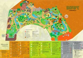 Bioparc Fuengirola Map