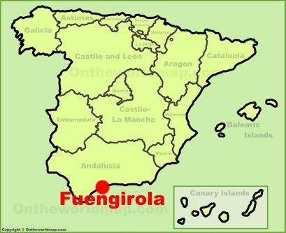 Fuengirola Location Map