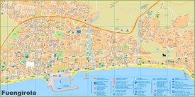 Fuengirola tourist map