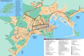 Ibiza Town Services Map