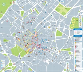 Jerez de la Frontera tourist map