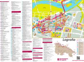 Logroño Tourist Attractions Map