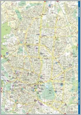 Madrid street map