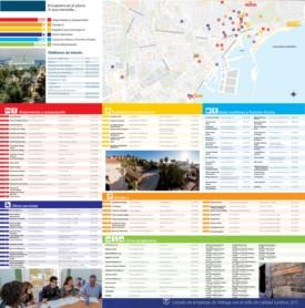 Málaga - Mapa Turistico