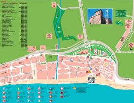 La Cala de Mijas map