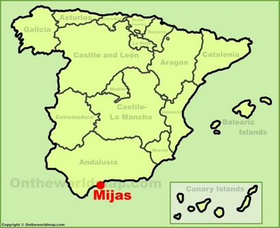 Mijas Location Map