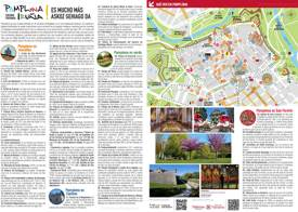Pamplona Tourist Attractions Map