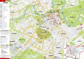 Pamplona Tourist Map