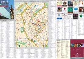 Reus city center map