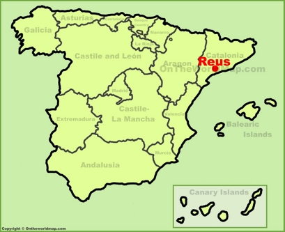 Reus Maps | Spain | Maps of Reus