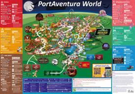 Mapa de PortAventura World