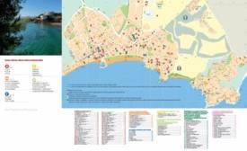 Salou hotel map
