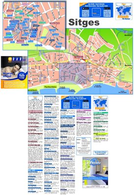 Sitges Gay Map
