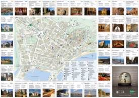 Large detailed tourist map of Tarragona