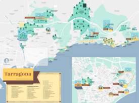 Mapa del patrimonio natural de Tarragona