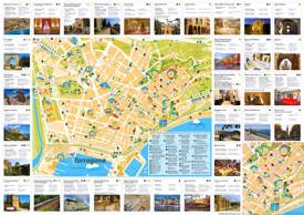 Mapa turístico de Tarragona