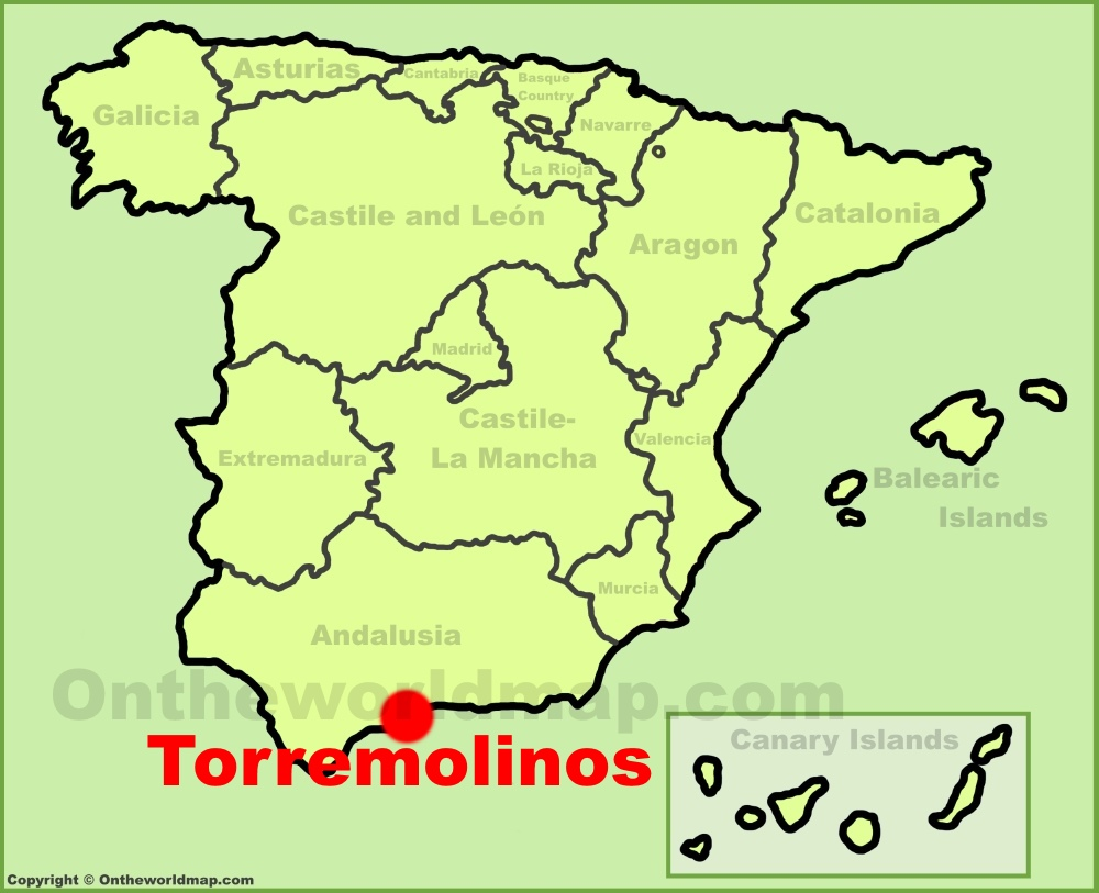 Map Of Torremolinos Torremolinos Maps | Spain | Maps of Torremolinos Map Of Torremolinos