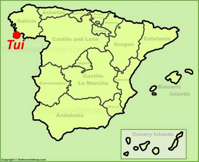 Tui Location Map