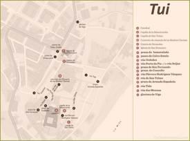 Tui Tourist Map