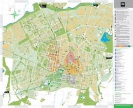 Vitoria-Gasteiz tourist map