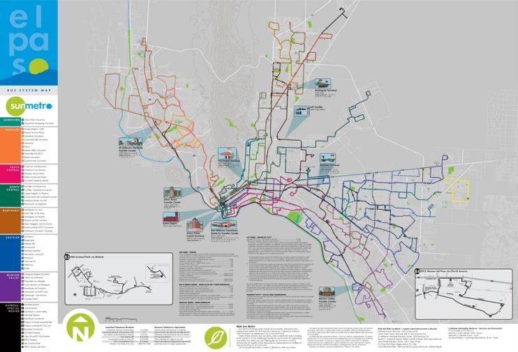 Zaragoza - Mapa de autobuses
