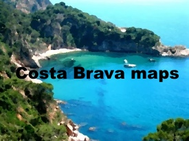 Costa Brava Mapas