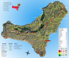 El Hierro travel map