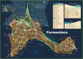 Formentera - Mapa Turistico